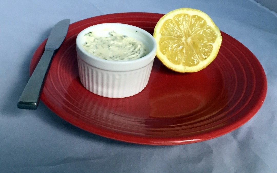 Lemon Garlic Dill Butter