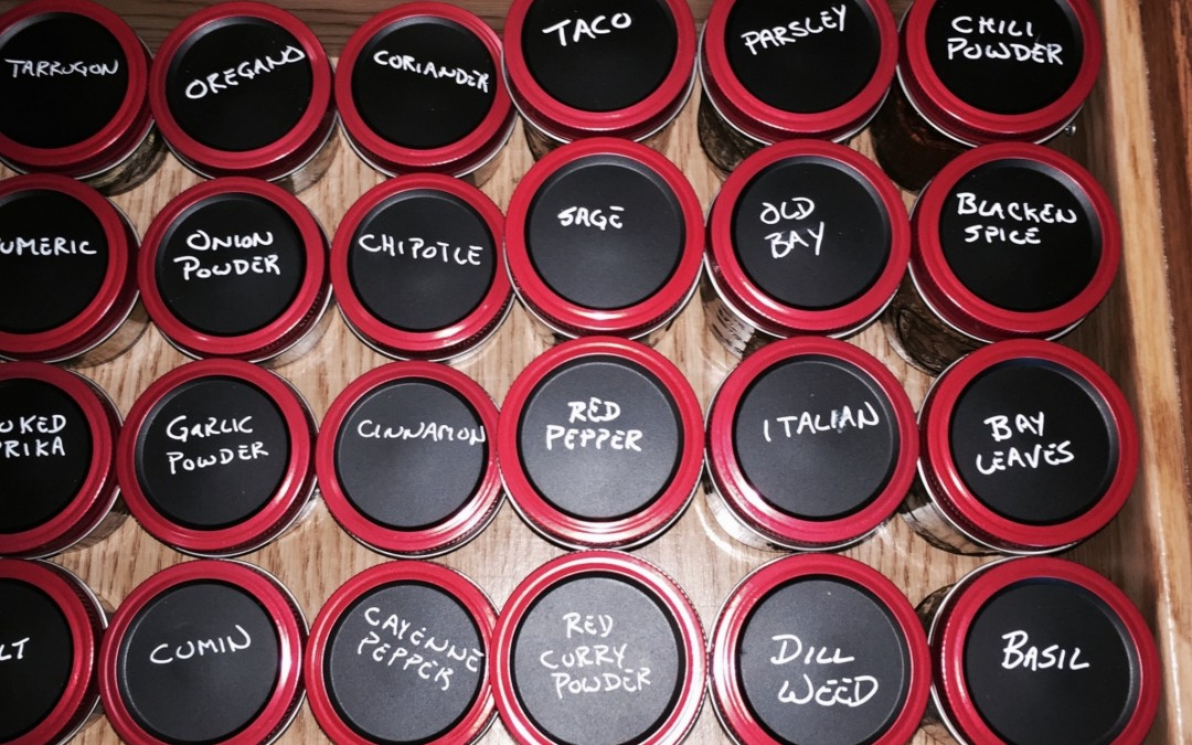 DIY – Organize Your Spices