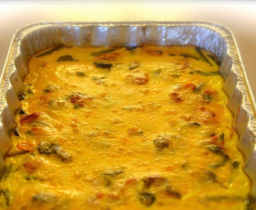 Vegetable Breakfast Casserole Recipe